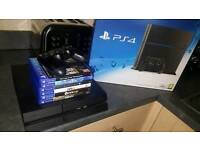 ps4 boxed 6games 500gb