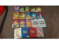 The Simpsons season 1-17 ((one disc missing in season four. Offers welcome.