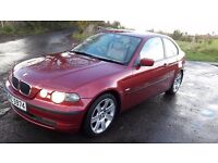 2002 BMW 320D COMPACT *FULL LEATHER**
