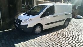 Fiat Scudo Van, New shape, 07 plate, Excellent Condition, Only £2350, Call 07946373606