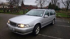 Volvo V70 AWD. Fantastic workhorse of a car. Extremely useful with some great features.