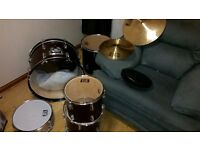 Drum Kit for sale (drums and cymbals only - no stands)
