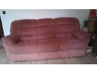 FREE! 2 seater (recliner) and 3 seater sofa!