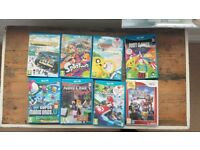Nintendo Wii U - 32 gb Premium console + 8 games inc Mario Kart 8 - complete setup with EXTRAS!