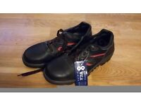 Work Safety Trainers Black Size 7 New