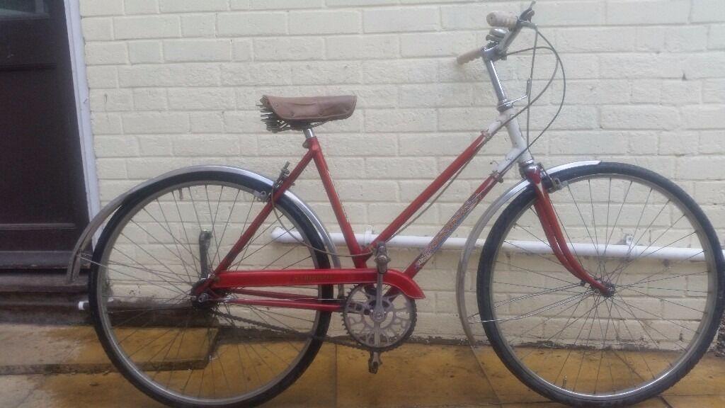 La S Vintage Triumph Palm Beach Tourist City Bike