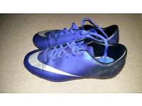 Kids Nike football boots.
