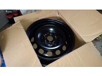 16 inch Steel Wheels Brand New suit VW Golf may fit Skoda Seat Audi or similar