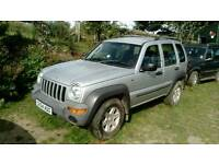 Jeep cherokee 2.5 tdci spare or repair