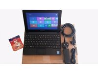 Brand New Condition Lenovo Netbook Intel N2830, 2GB RAM, 32GB SSD Storage, Windows 8, 16GB USB Drive