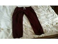 Lady H&M jogging bottom fashion clothes