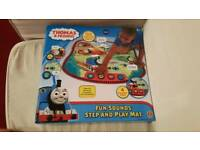 BRAND NEW Thomas & Friends Electronic Interactive Fun Sounds Step & Play Mat.