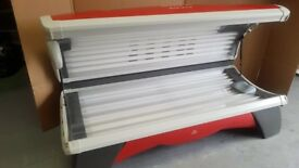 SUNBED 28 TUBE DOUBLE SUNBED HAPRO PROLINE MODEL VERY NICE CONDITION