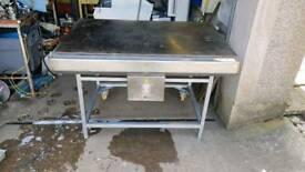 Bakery equipment. Scobie McIntosh electric hotplate.