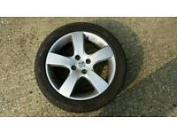 17in Alloy wheels from Peugeot 307