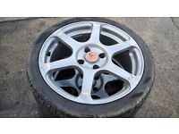 CITROEN C2 / C3 205/40 ZR 17 ALLOY WHEELS AND TYRES