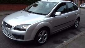 "FORD FOCUS 1.6 ZETEC 5 DOOR SILVER 2007 ""LOW MILES+LONG MOT(NO ADVISORIES)"""