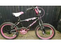 "5 to 8 year old girls 18"" wheel bike"