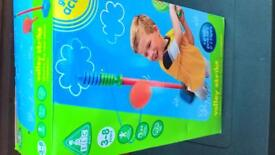 EARLY LEARNING CENTRE VOLLEY STRIKE SWINGBALL FOR AGES 3-8 YEARS BOXED BRAND NEW
