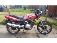 Sukida SK 125cc Cheap Running Project Bike! NO OFFERS!!!
