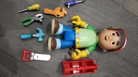 Fisher price Handy Manny with toolbox.