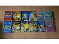 The Simpsons Complete Series 1-12 On DVD
