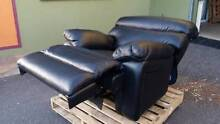 La-Z-Boy Black Leather Recliner Chairs x 4 - as new - Lazboy Yarrawonga Palmerston Area Preview