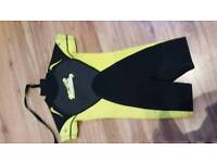 Childrens shorty wetsuits age 2-3