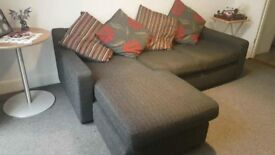 Corner sofa and arm chair that fits 2