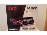 JVC Car Radio built in bluetooth with USB/AUX inputs