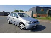 2002 Vauxhall Astra 1.6 Club 8v FULL SERVICE HISTORY CLEAN CAR 5 Door Corsa Megane Clio Vectra