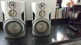 Pioneer bass reflex speaker system