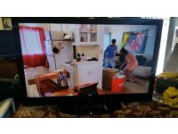 """BUSH LCD40883F1080P 40"""" LCD 1080P TV REFURBISHED WITH REMOTE"""