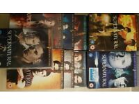 Supernatural, Series 1-7 on dvd