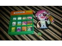 Moshi monsters monster figure teddy house