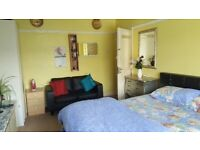 Fully furnished nice and tidy large Master double room to rent for Single person