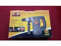 Hammer Drill with - Drill only / Hammer Drill/ Rotation Stop. 110v