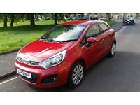 KIA RIO Hatchback 1.25 2 5DR (red) FOR SALE