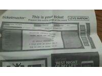 2 x Patty Smith Tickets Manchester Apollo 5th June