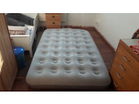 Inflatable Small and Large Double Mattress