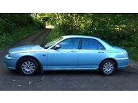 Rover 75 Connoisseur SE 2.0 CDTi, great caravan tow car w/towbar, leather seats, heated front seats