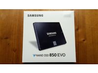 Samsung 850 Evo 250GB SSD drive - brand new, sealed
