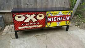Upcycled vintage sideboard