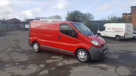 vauxhall vivaro in very good condition inside and out