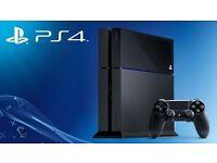PS4 - 500GB - BLACK - 1 CONTROLLER - £185