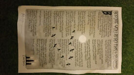 todd klein poster signed by neil gaiman
