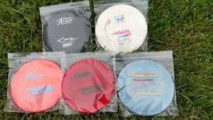 (100) Disc Golf Collector Bags 9 X 9 Ziplock Poly Clear 2 Mil  Innova OOP PFN CE