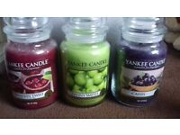 Yankee Candle various scents