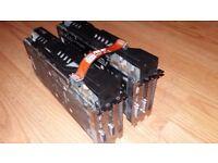2 x 2GB ASUS GTX 680 DirectCU II - Plus SLI Cable