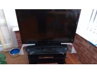 "42"" LCD HD 3D Tv with 8 pairs of Glasses"